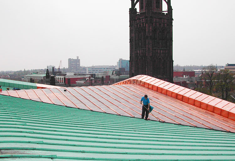 Should You Paint Your Copper Metal Roof? Maintenance Tips ...